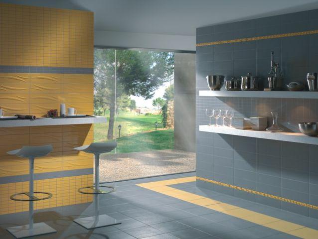Carrelages de cuisine for Faience cuisine coloree